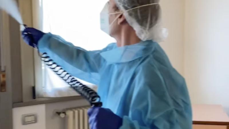 Gianluigi, responsabile della sicurezza in UGRonlus, vi illustrerà le macchine per la disinfezione antiCovid.