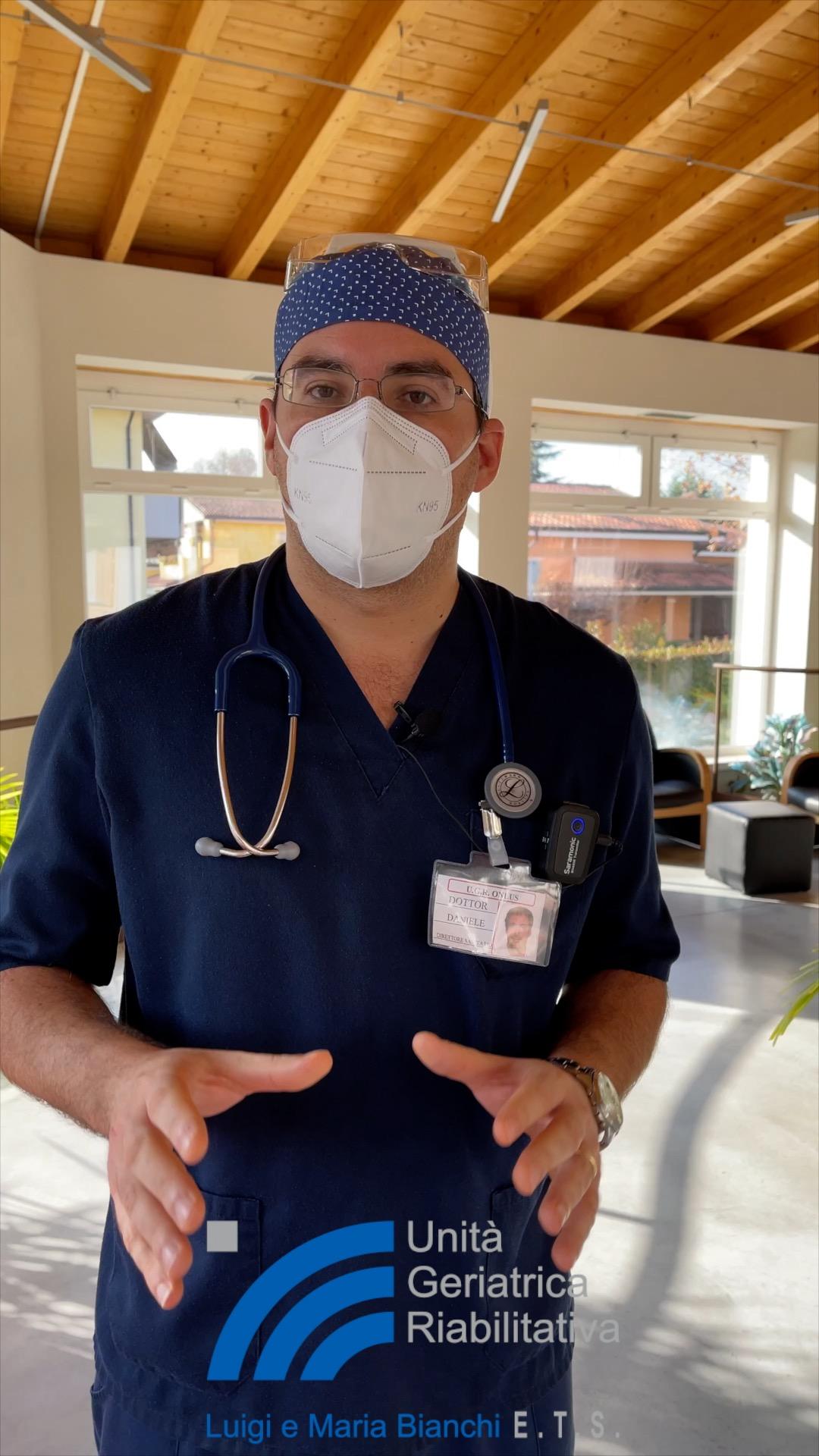 UGR e.t.s., 1 dicembre 2020, stato dell'arte in struttura e novità con la consueta professionalità del Direttore Sanitario Dr. Daniele Costa