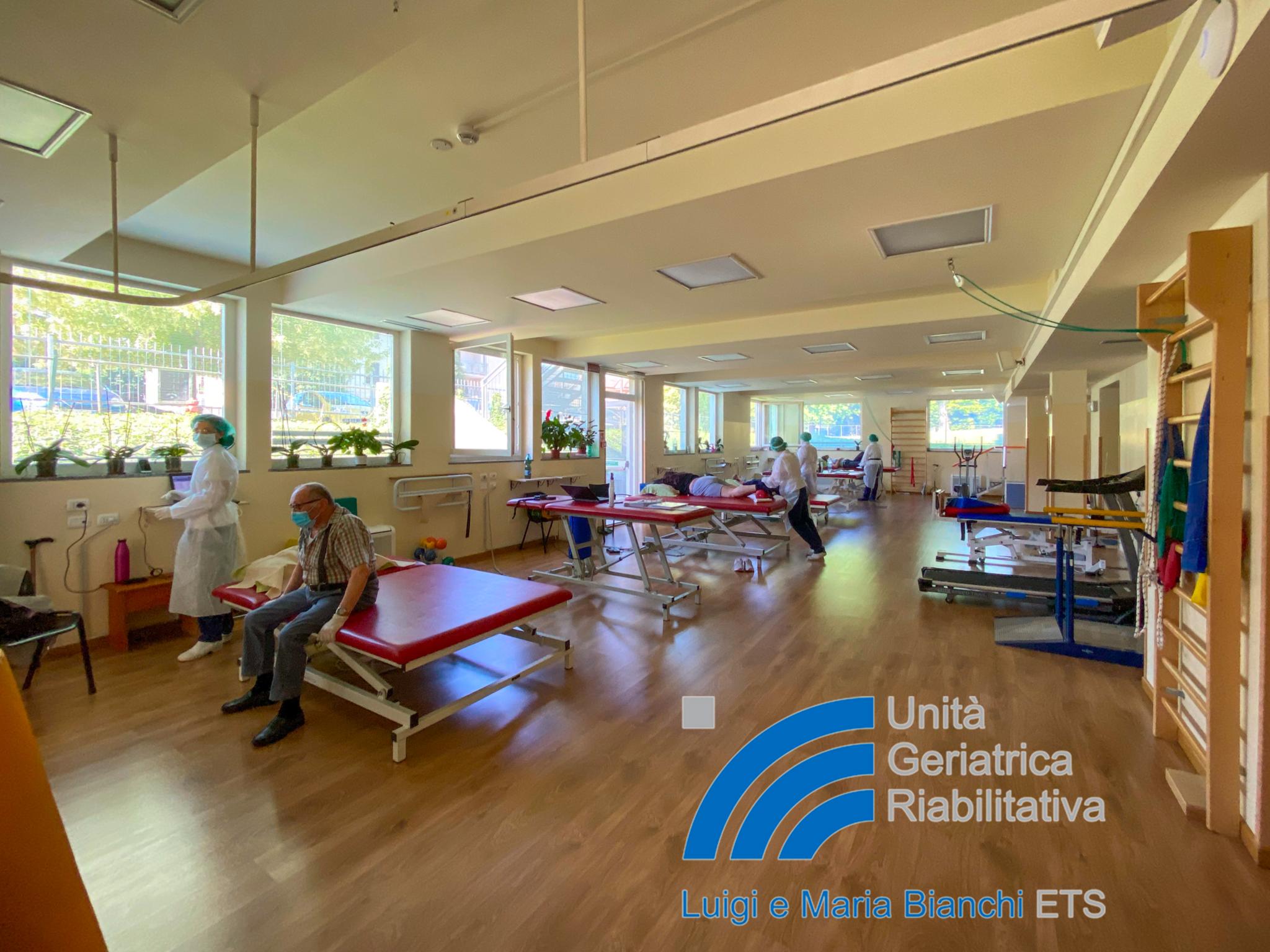 Il servizio di riabilitazione per gli utenti esterni è attivo nel rispetto della normativa vigente con lo scopo di rendere sicuro ogni intervento terapeutico richiesto.