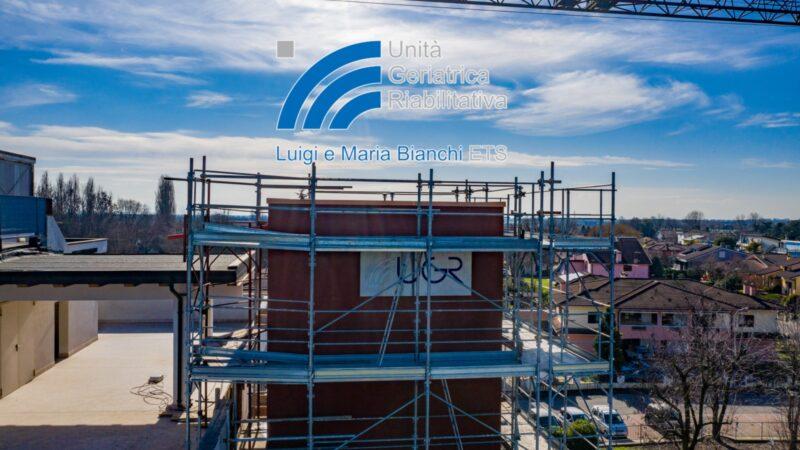 I lavori di ampliamento della struttura procedono spediti, al termine degli stessi l'UGR e.t.s. sarà più bella e al passo con i tempi.