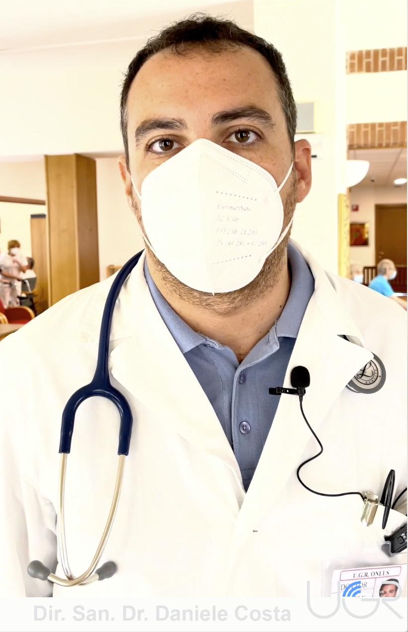 Oggi vi presentiamo il periodico aggiornamento dal punto di vista sanitario in UGR ets.