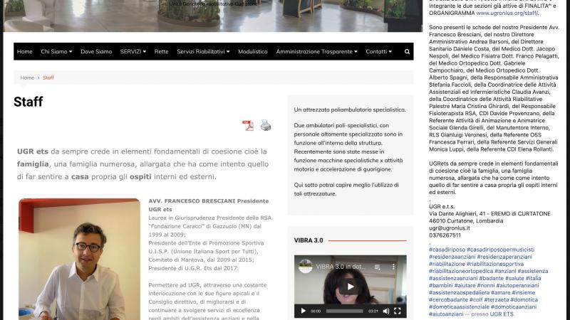Abbiamo inaugurato una nuova sezione sul nostro sito www.ugronlus.org e siamo felici di annunciarlo.